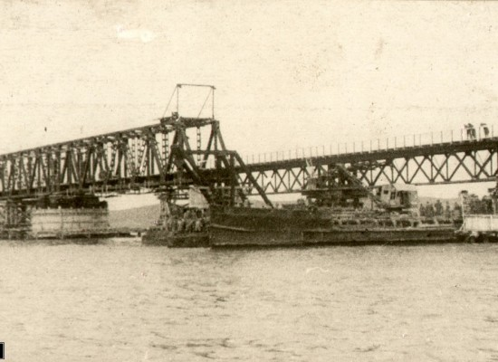 Павел Михайлович Зернов руководил строительством Керченского моста в 1944