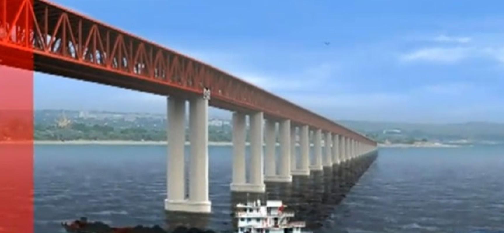По Керченскому мосту будут ходить поезда