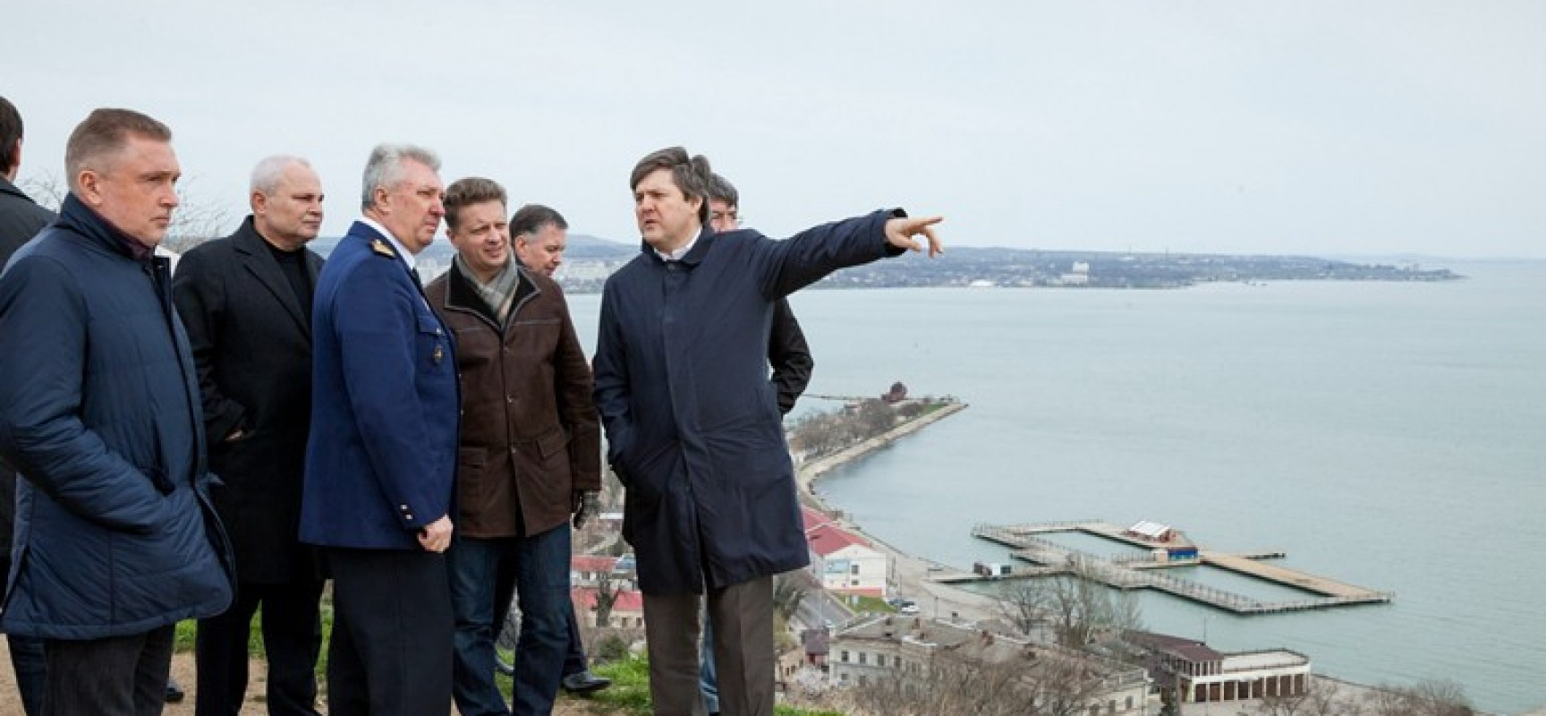 Министр транспорта РФ Максим Соколов о мосте через Керченский пролив