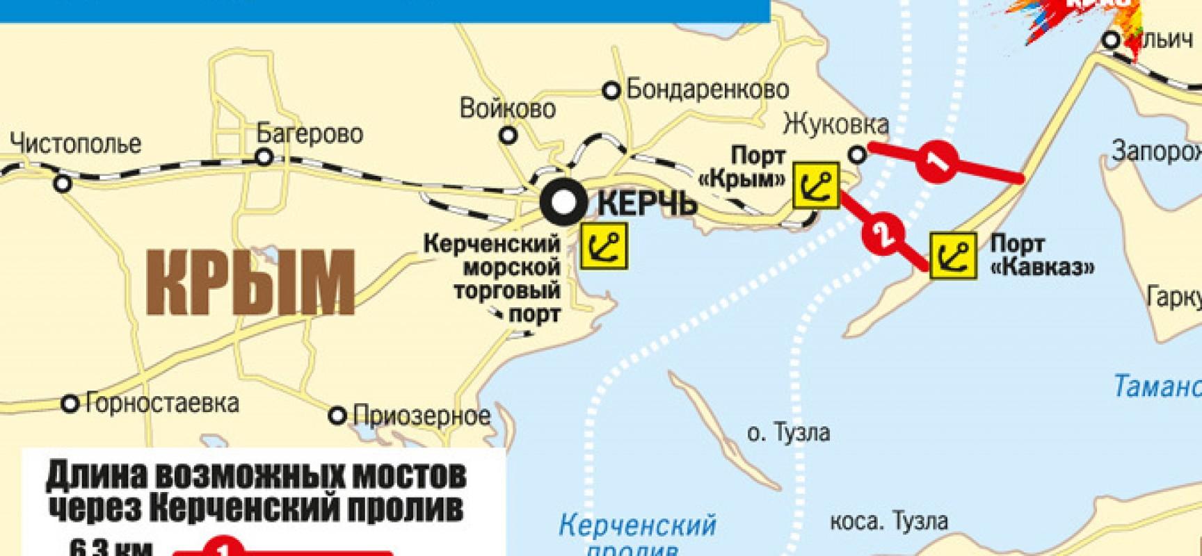 Без моста через Керченский пролив Крым просто не выживет, — союз инженеров