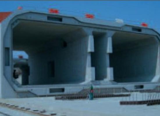 Погружной тоннель. Вариант конструктивного решения транспортного перехода через Керченский пролив