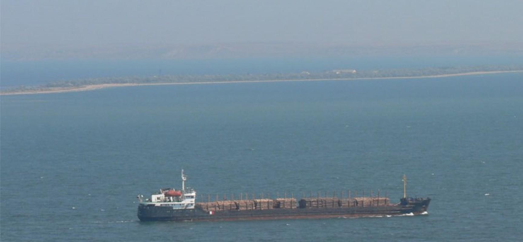 Изучение течений в Керченском проливе