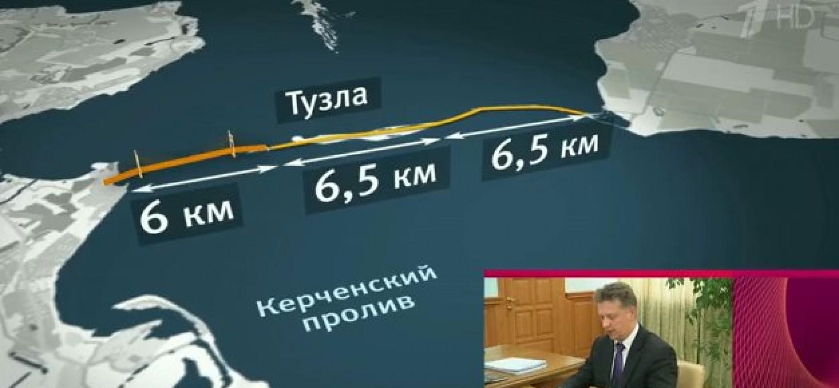 Работы по строительству моста через Керченский пролив уже начались