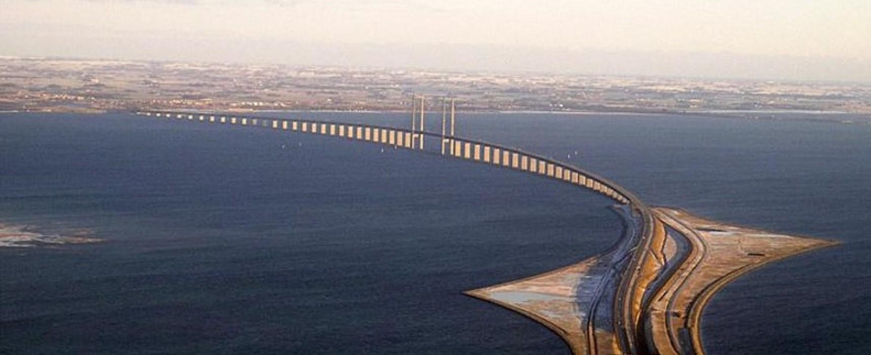 Опыт возведения мостового перехода через пролив Эресунн в Скандинавии