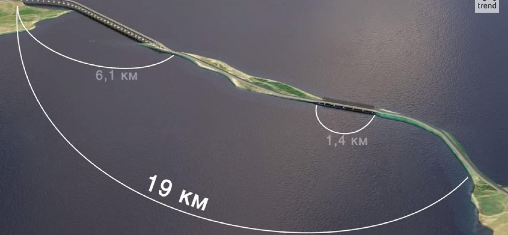 Мост через Керченский пролив, видео. Расширенная версия