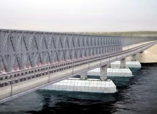 Согласно проекту распоряжения правительства генеральным подрядчиком строительства моста через Керченский пролив будет назначено ООО «Стройгазмонтаж»