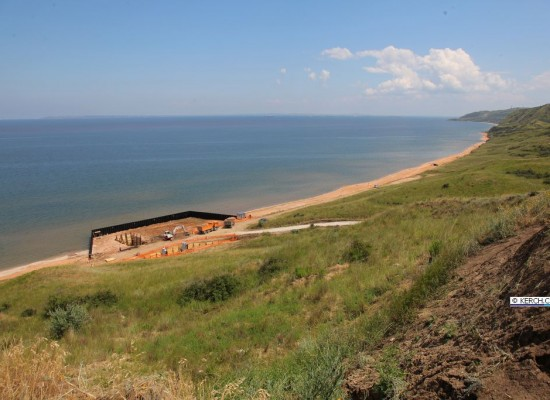 Ход работ по энергомосту в Крым (фото, видео)