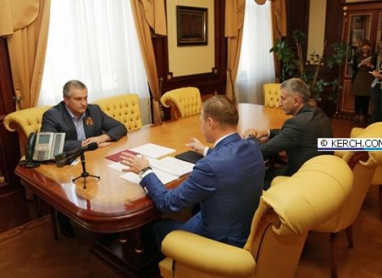 В Симферополе обсудили вопрос строительства Керченского моста