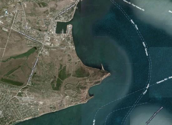 План землеотвода транспортного перехода через Керченский пролив