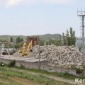 В районе Цементной слободки в Керчи начались работы: замечена тяжелая техника