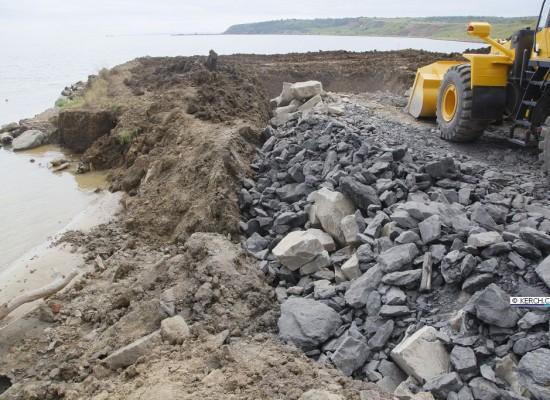 Дорога, уходящая в море: строительство моста в Керчи
