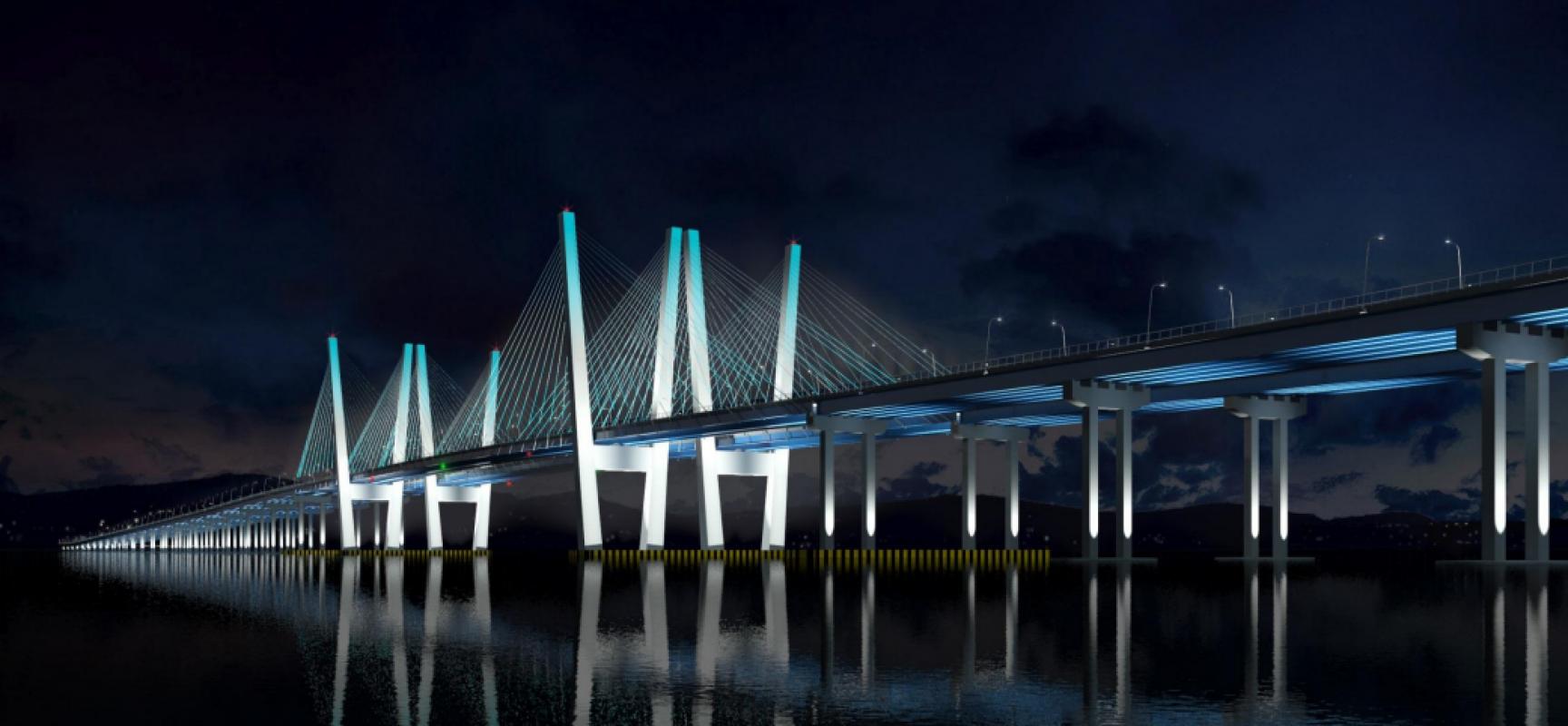 Умный мост Tappan Zee в Нью-Йорке