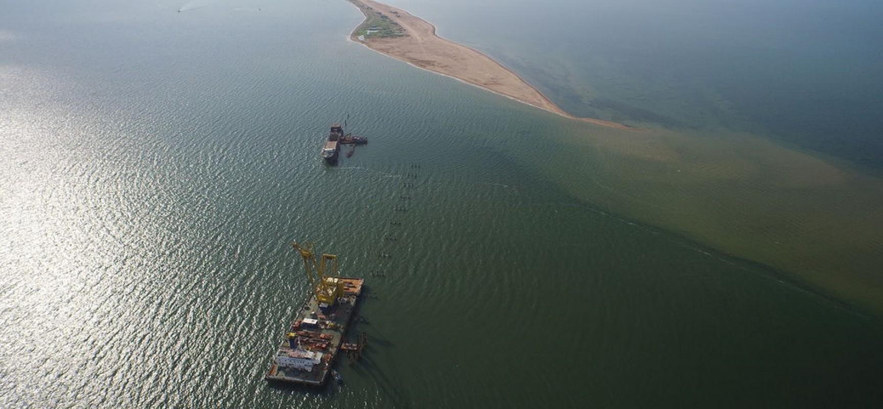 Ученые нашли способ удешевить мост через Керченский пролив на 10-20%