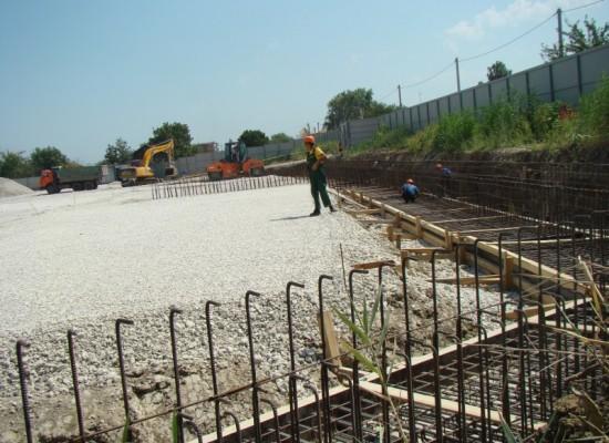 Ход работ по подготовке к строительству моста через керченский пролив. Август 2015(фото, видео)