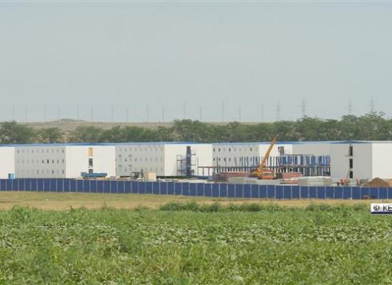 Вахтовый городок для строителей Керченского моста со стороны Тамани готов
