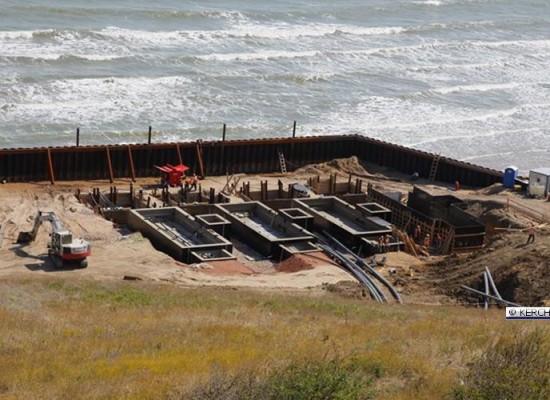 Как продвигается строительство энергомоста в Крым 26-08-2015