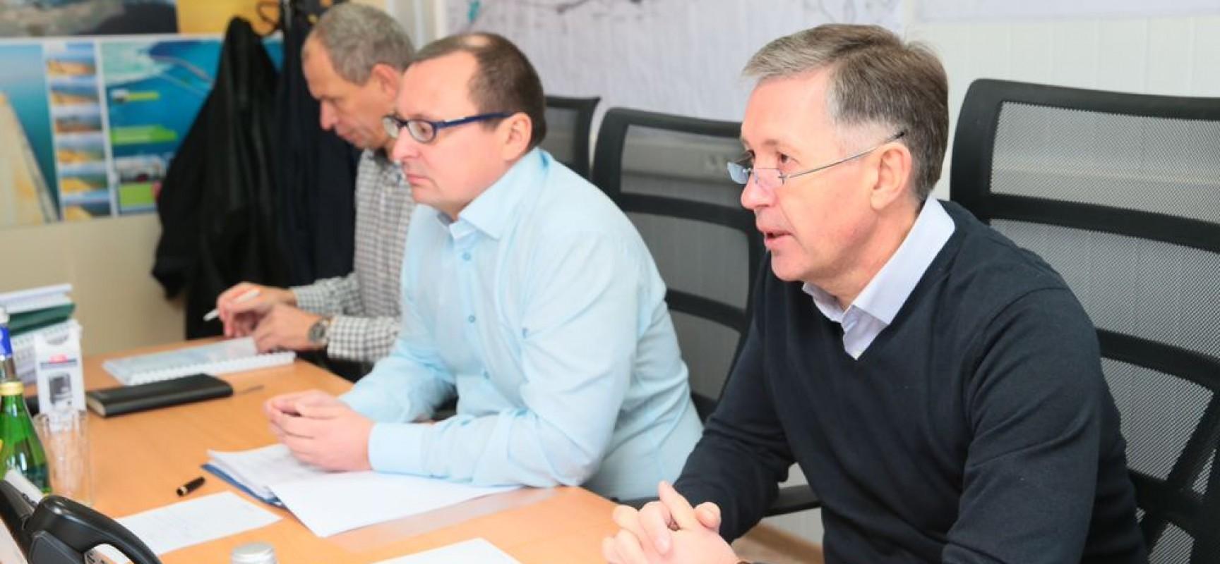 В Тамани обсудили вопросы обеспечения безопасности будущего строительства моста через Керченский пролив