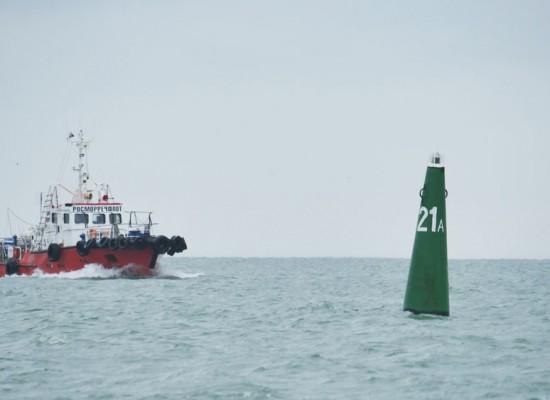 Безопасность судоходства на время строительства моста через Керченский пролив