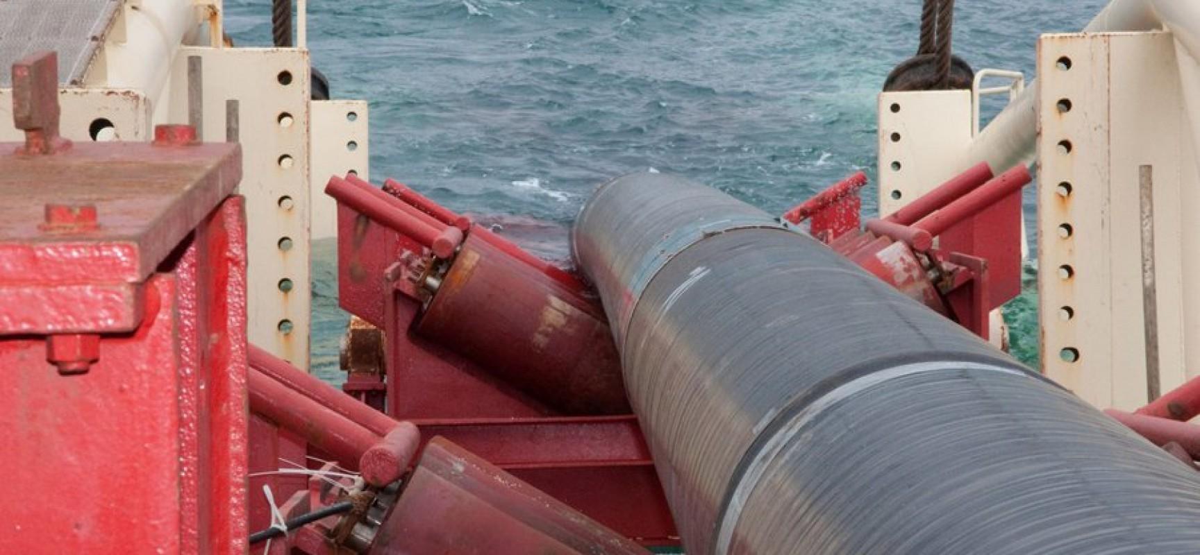 Магистральный газопровод в Крым
