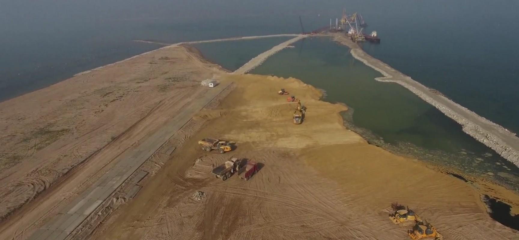 4-11-2015 Постройка рабочих мостов РМ-2, РМ-3