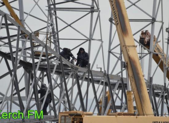 Ввод в эксплуатацию первой очереди энергомоста в Крым
