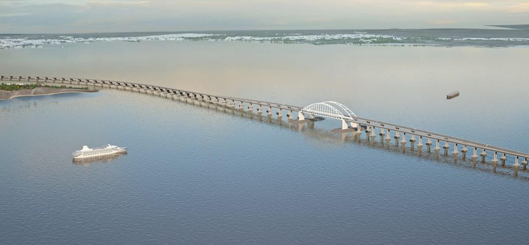 Росавтодор получил одобрение экологической экспертизы мер по охране окружающей среды при создании Керченского моста
