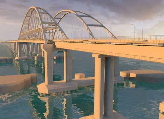 Проект моста через Керченский пролив получил положительное заключение Главгосэкспертизы