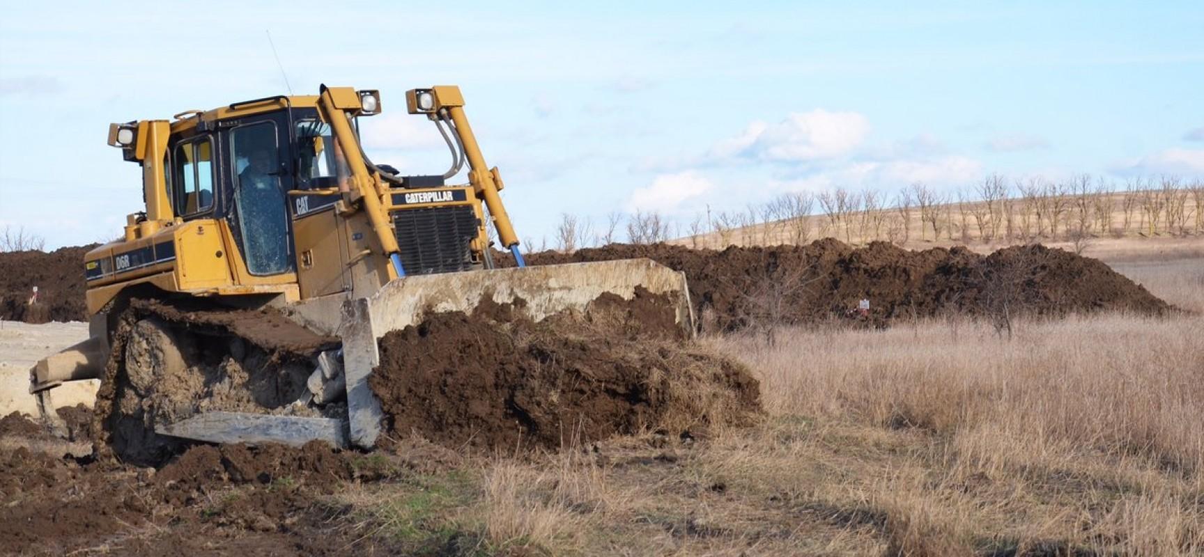 Сохранение плодородного слоя грунта на обоих берегах Керченского пролива