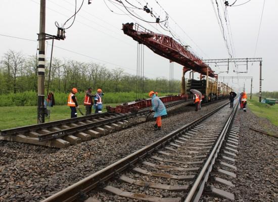 25 апреля на Крымской железной дороге начался капитальный ремонт путей