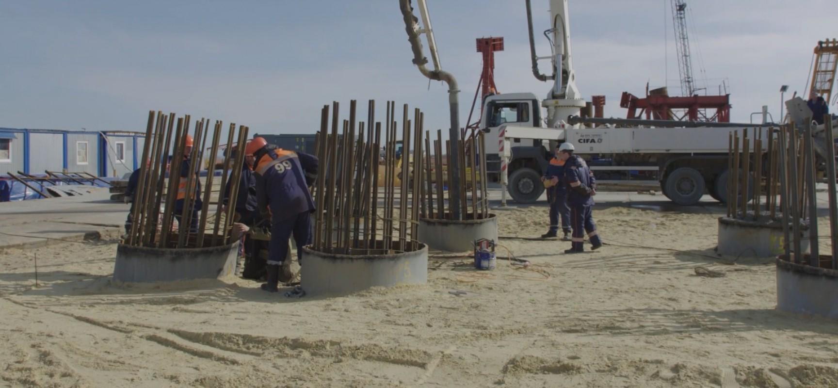 Информация о том как устроиться на работу на строительство моста через Керченский пролив