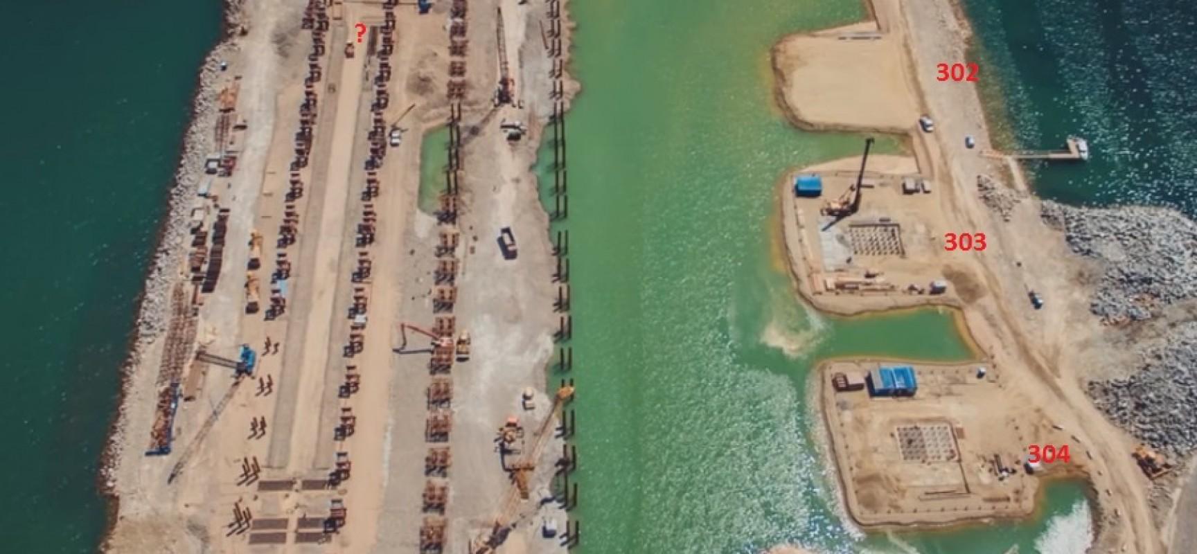 В основание Керченского моста погрузили уже более 1000 свай