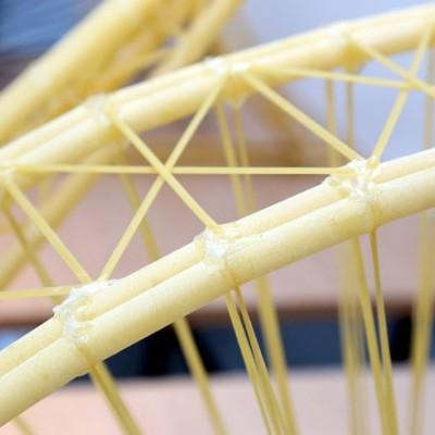 Мост из спагетти: словенские студенты поставили очередной рекорд