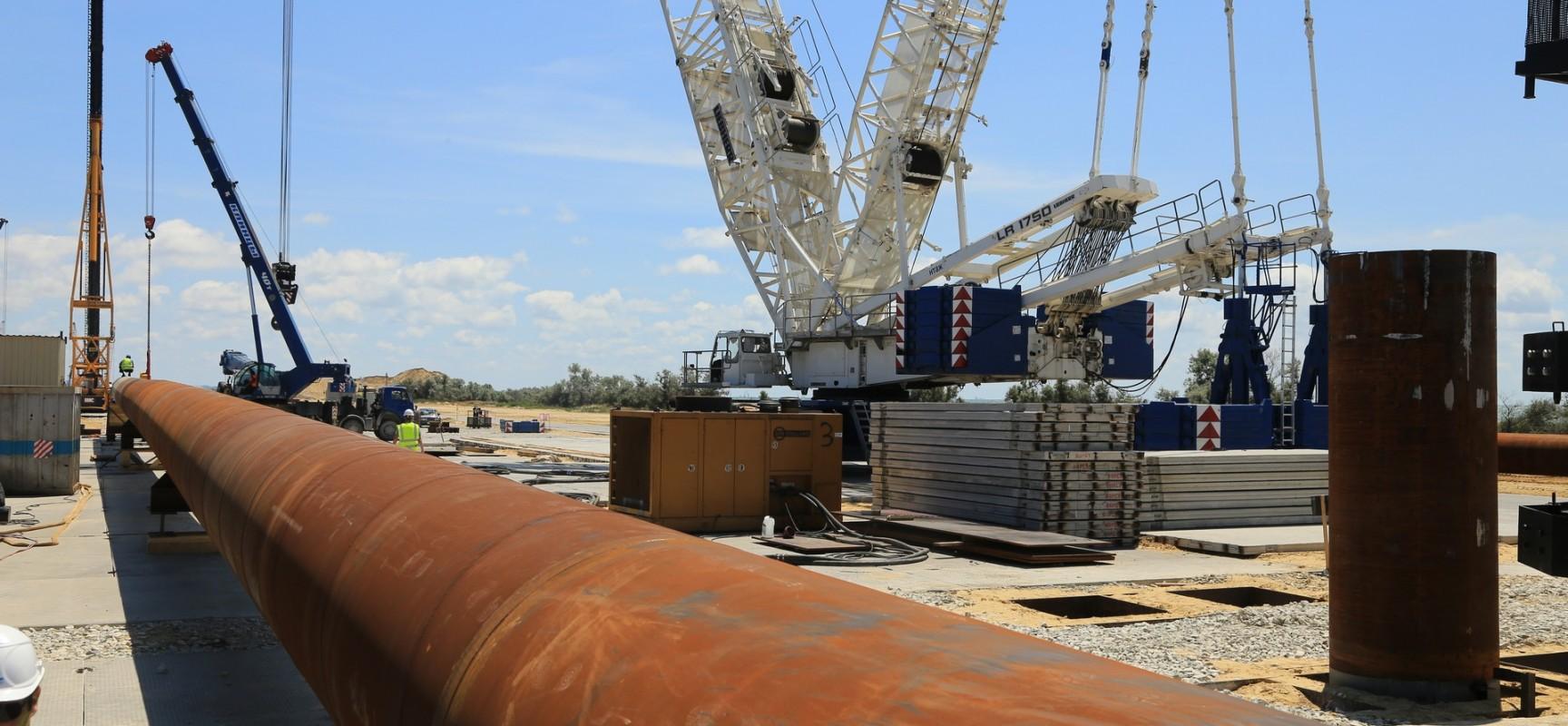 Дорожная инспекция ОНФ проверила ход строительства моста через Керченский пролив