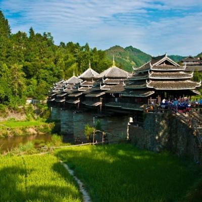 Мосты ветра и дождя в Китае