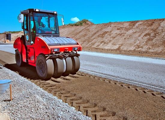 На Таманском полуострове идет строительство крупнейшей автомагистрали