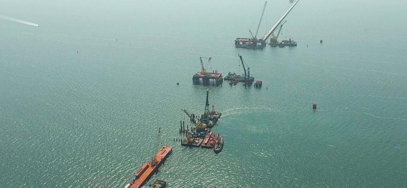 Инженерная защита моста через Керченский пролив: от проекта до реализации