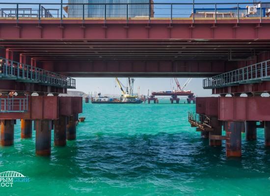 Тюменским мостовикам достался один из самых сложных участков строительства Крымского моста.