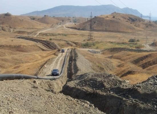 Газопровод в Крым, сентябрь 2016