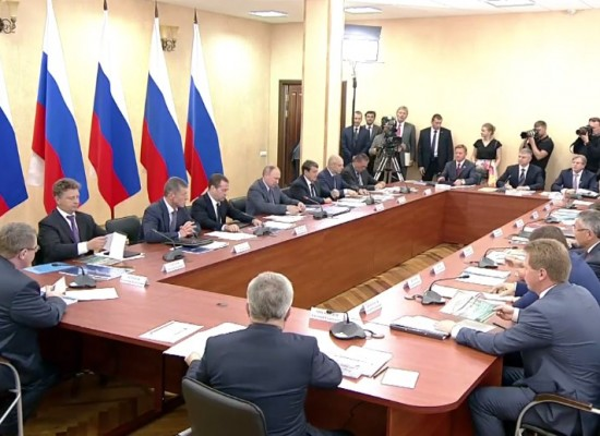 Заседание президиума Госсовета по вопросам развития транспортной системы Юга России