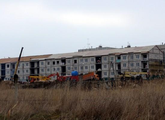 Строительство домов для переселенцев с Цементной Слободки подходит к концу