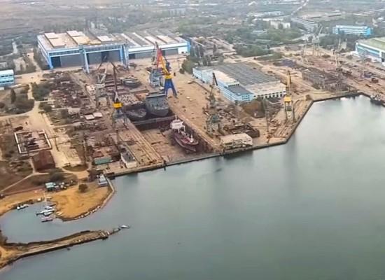 Керченский завод «Залив» принимает на себя изготовление металлоконструкций пролетных строений автодорожного моста общим весом 500 т.