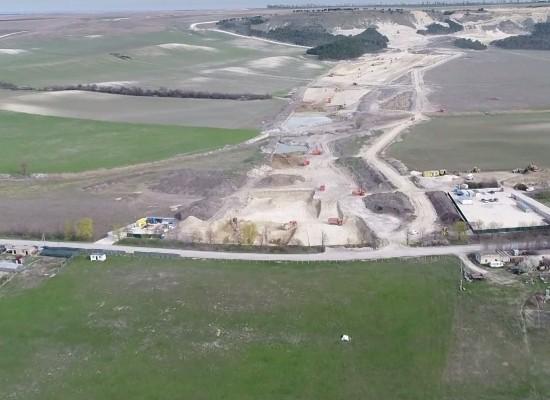 «Сибавтобан» занимается строительством трассы Дубки — Левадки