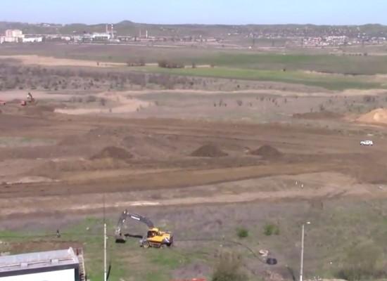 Археологические раскопки, предшествующие строительству автоподходов к Керченскому мосту