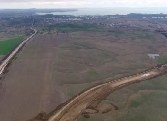 11 апреля 2017. Пресс-тур по строительству автоподходов к мосту через Керченский пролив