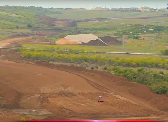 Строительство трассы «Таврида» май 2017