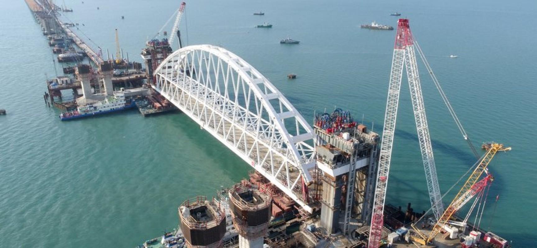 Использование системы мониторинга транспорта при строительстве Керченского моста