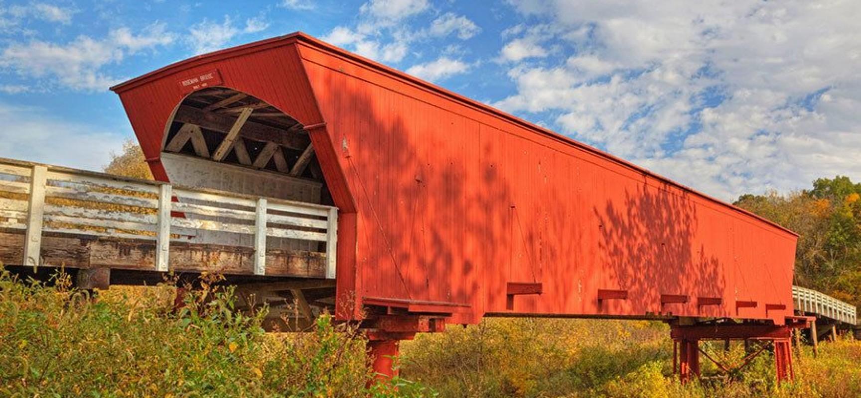 Мост с крышей