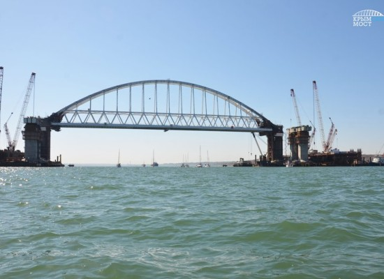 Парусная регата прошла по Керченскому проливу