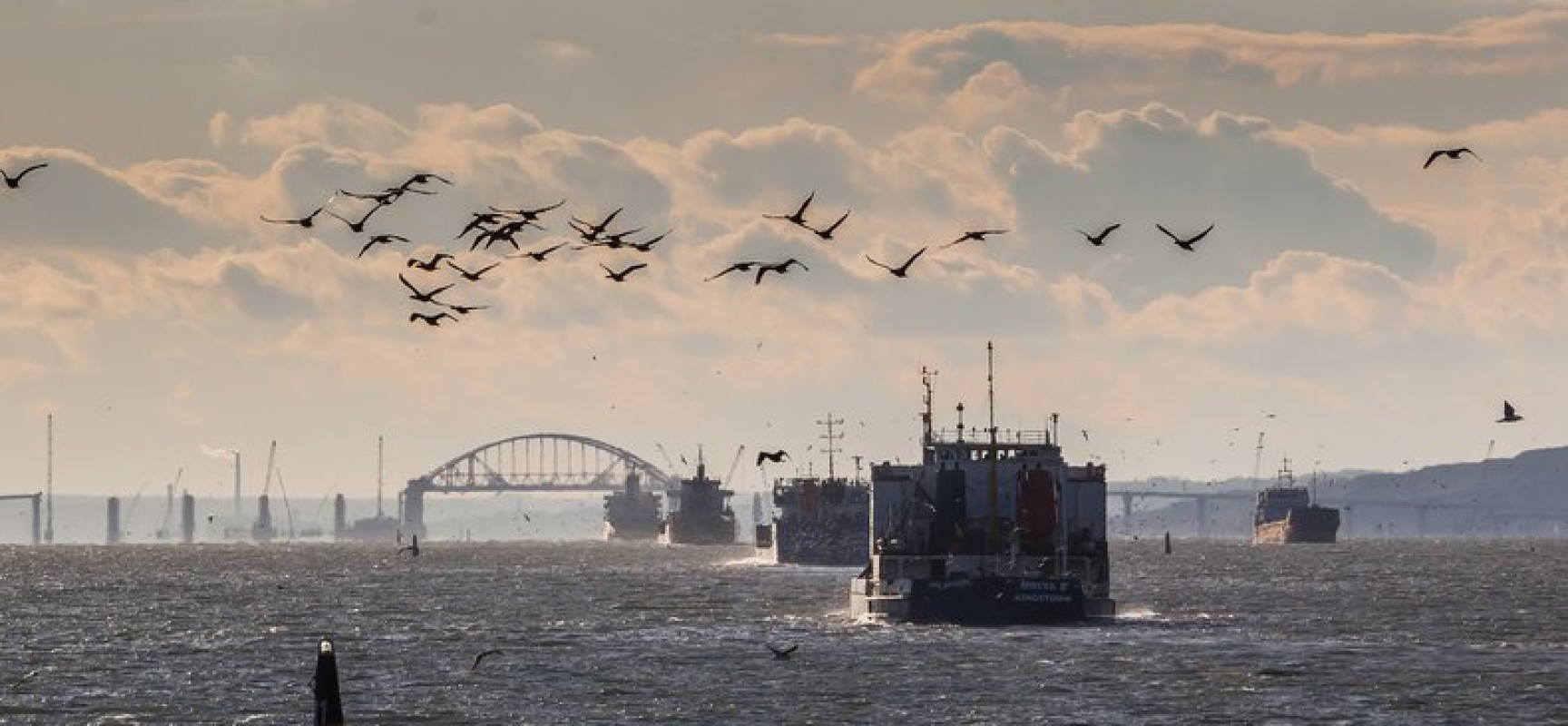 Название моста в Крым выберут в 2017 году