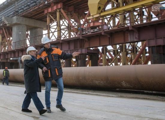 Строительство железной дороги по Крымскому мосту выходит на пиковую мощность